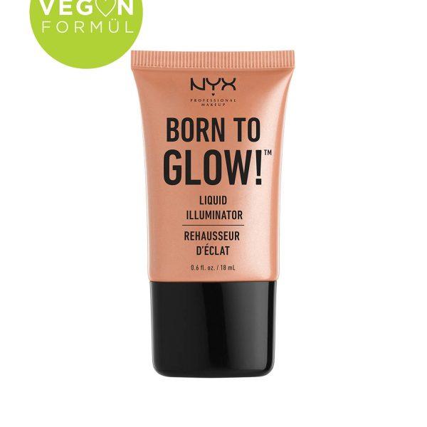 هایلایتر وگان NYX مدل Born To Glow
